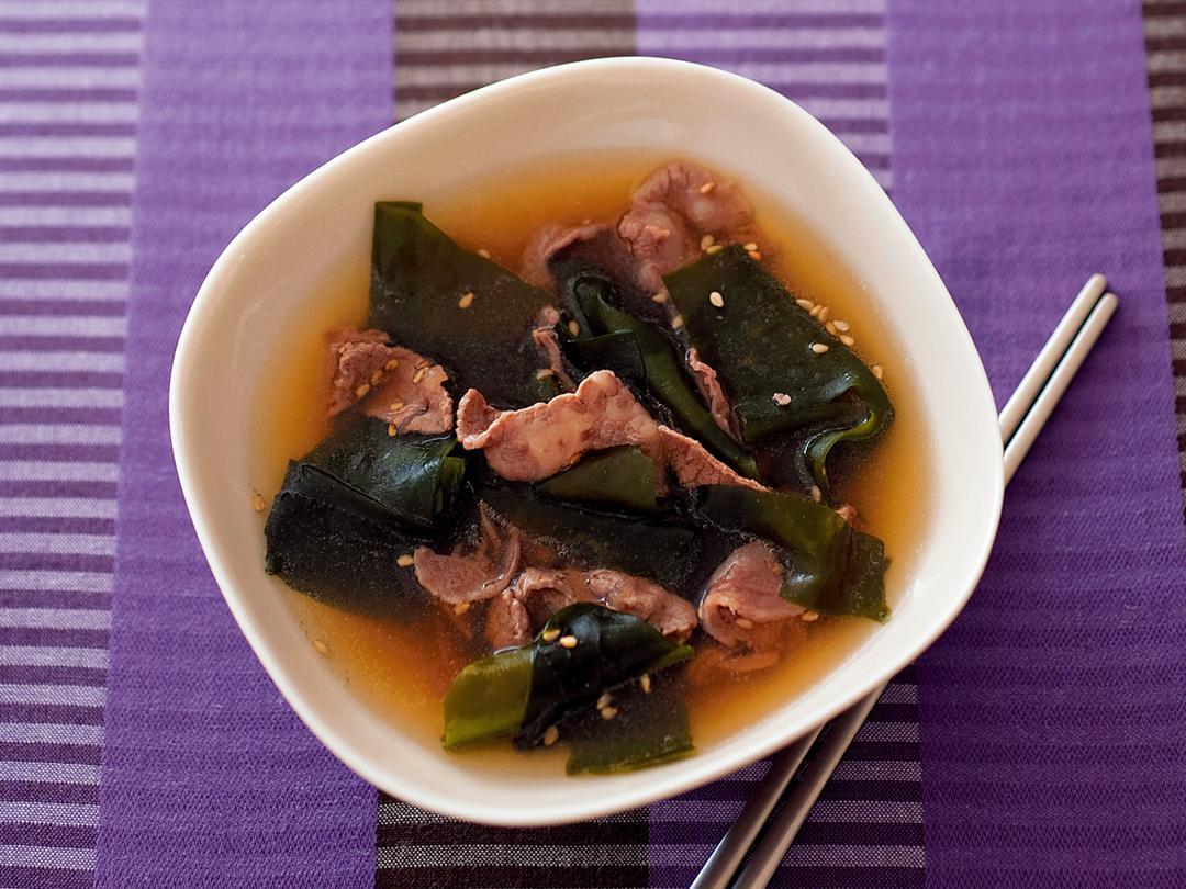 韓国風わかめスープ
