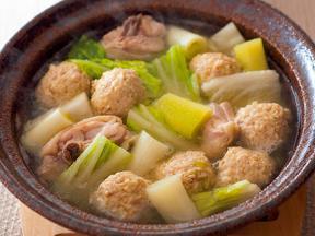 鶏しょうが水炊き
