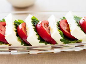 豆腐の和風カプレーゼ