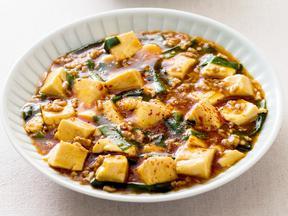 ニラ入り辛口麻婆豆腐