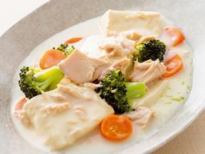 豆腐のクリーム煮