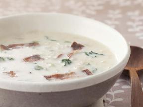 かぶと豆乳のスープ