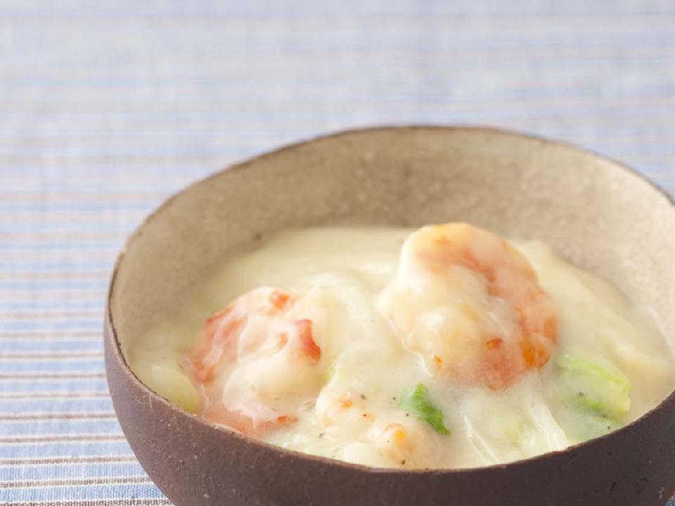 白菜のクリーム煮中華風