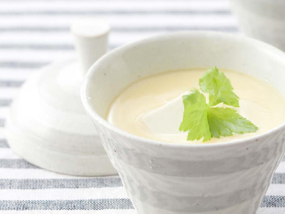 豆乳&豆腐茶わん蒸し