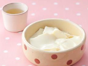 豆腐花風しょうがシロップ仕立て