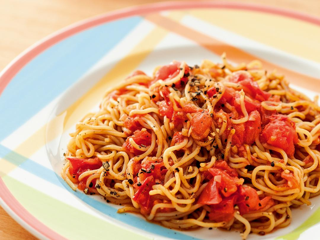 【ソース】さっぱりトマト焼そば