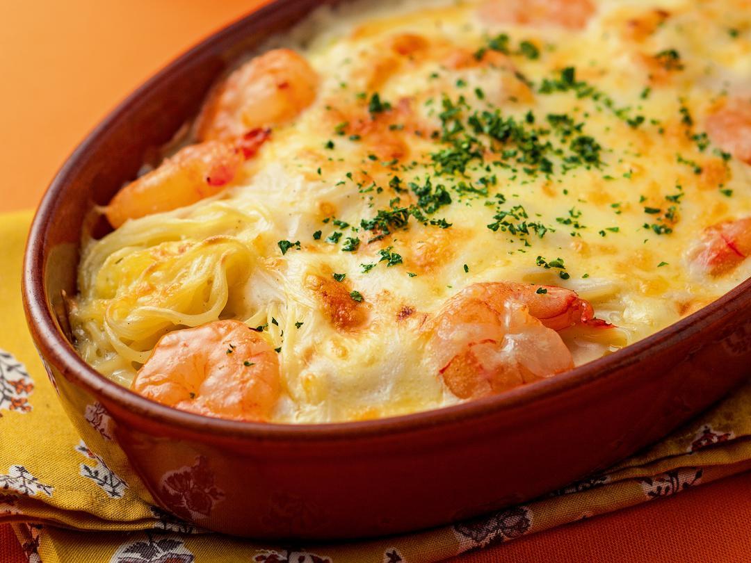 【塩】こんがりチーズの焼そばグラタン