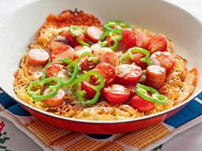 【ソース】焼そばピザ