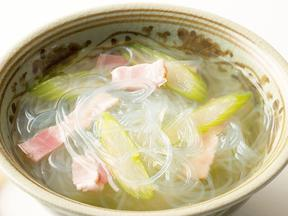 あっさり春雨スープ