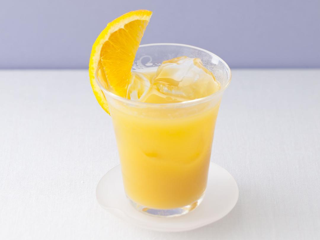 オレンジビネガー烏龍茶