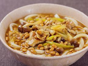 カレー納豆南蛮