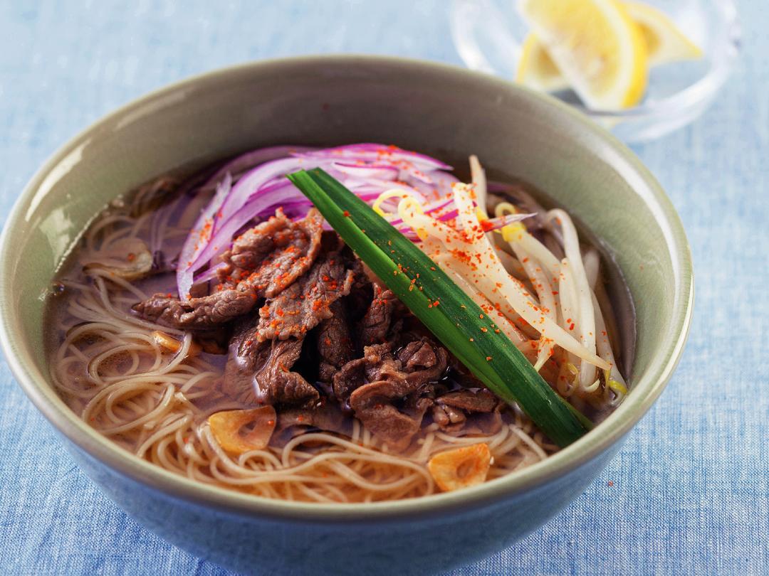 牛肉のベトナムフォー風