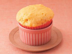 にんじんとくるみのカップケーキ
