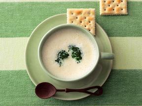 豆乳チーズクリームスープ