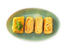 おつまみイカとセロリの卵焼き