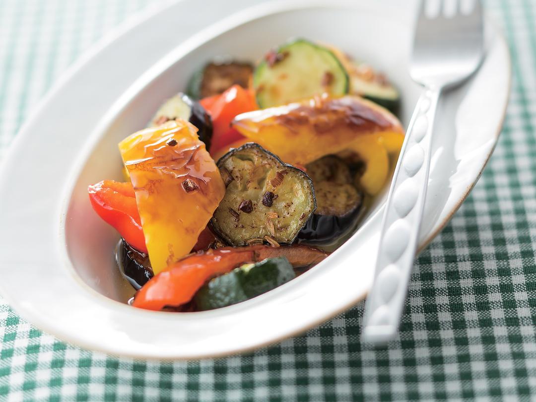 焼き野菜のオイル漬け