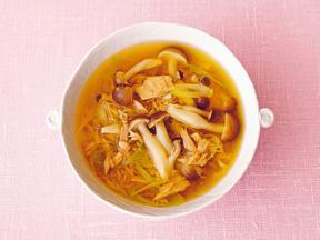 しめじとシーチキンの和風スープ