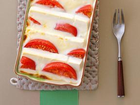 クリームチーズ&お豆腐グラタン