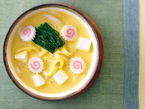 カレー&クリームチーズうどん