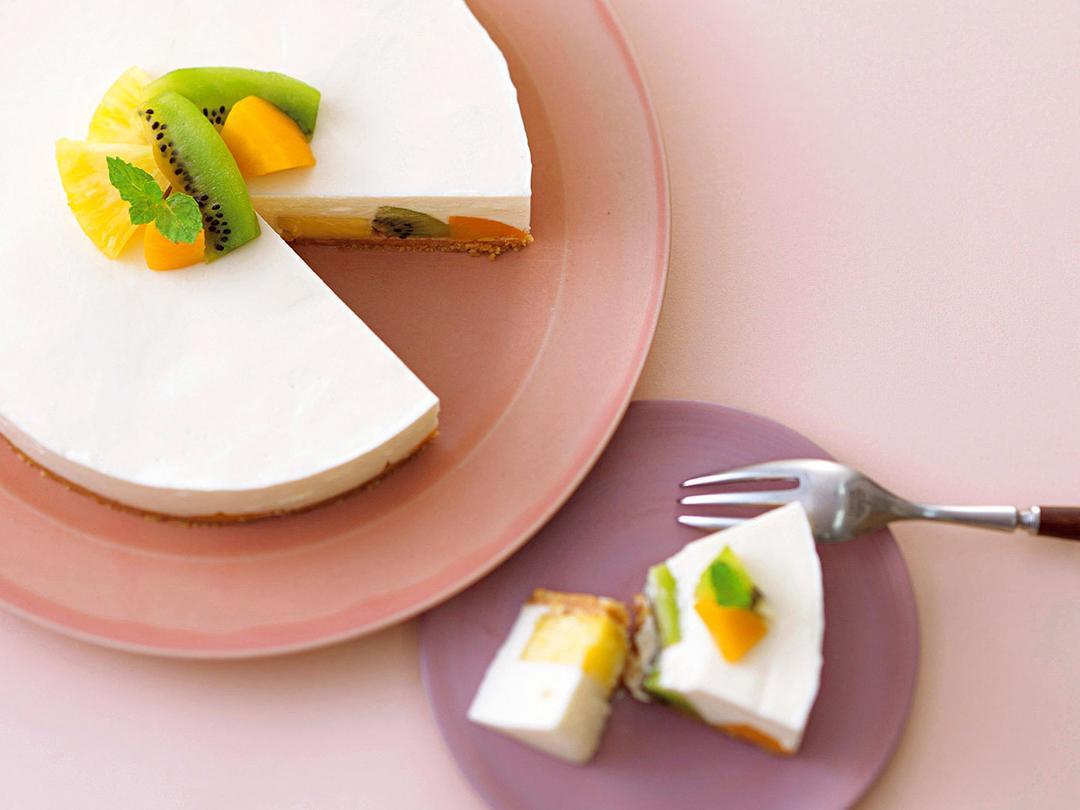 kiriのフルーツチーズケーキ