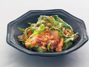 韓国風お刺身納豆サラダ
