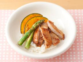 糀&味噌風味の豚丼