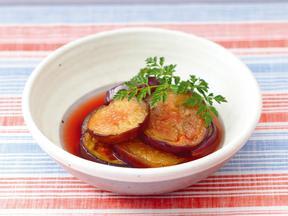 焼きなすのトマトマリネ