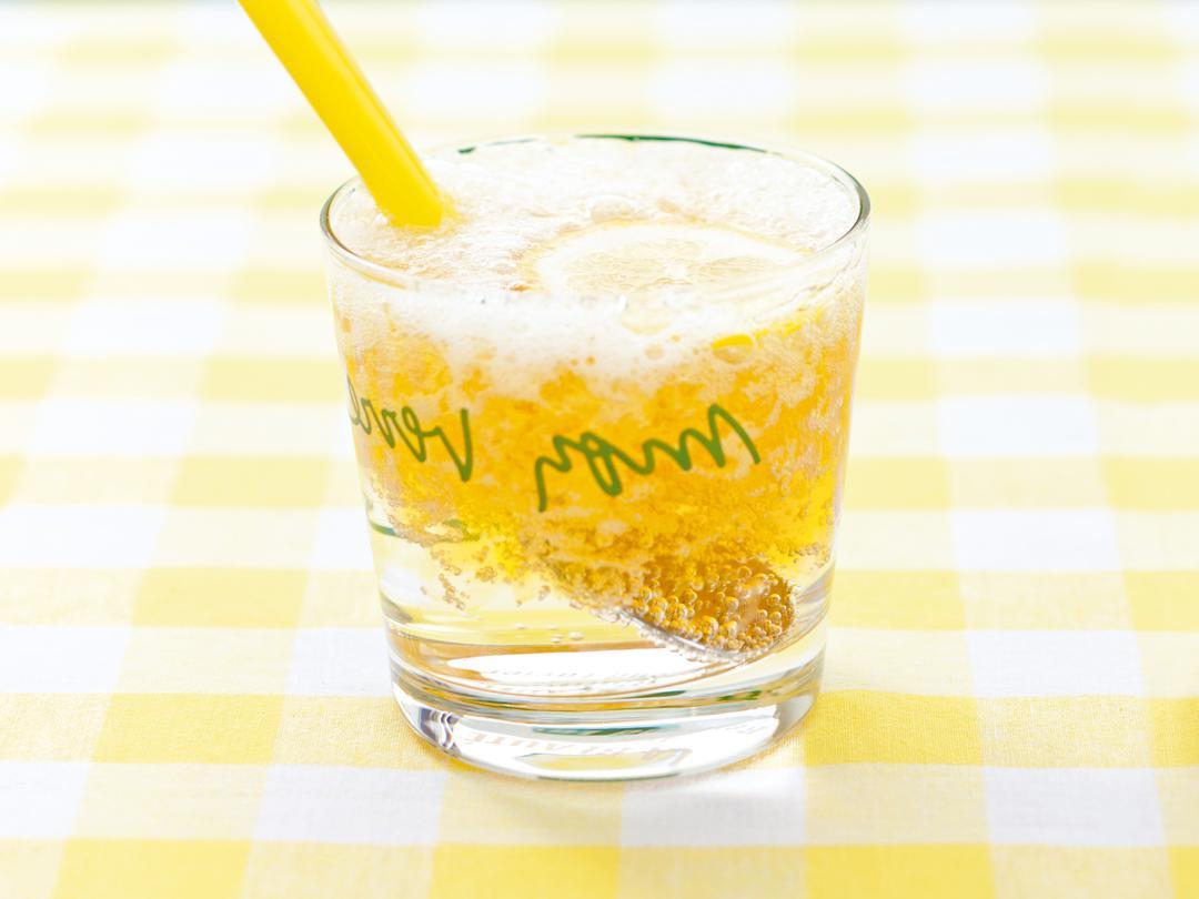 レモンティーゼリーソーダ