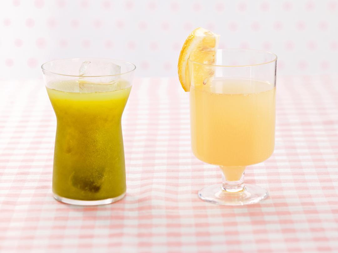 レモングレープフルーツのグリーンティー