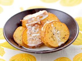 焼きポテトのレモンゴルゴンゾーラクリーム