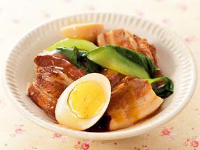 豚肉のレモン角煮