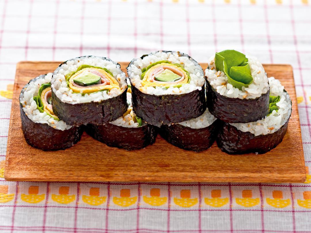 さっぱりサラダ寿司