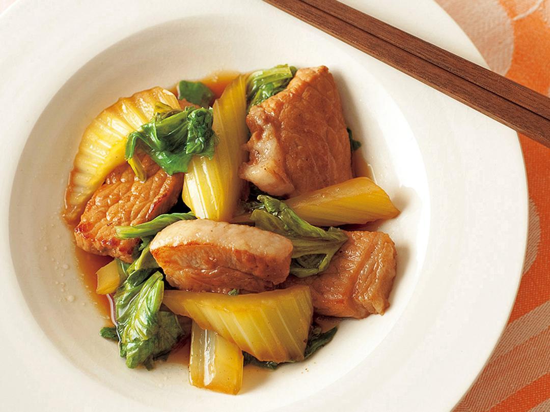 豚とセロリのさっぱり煮