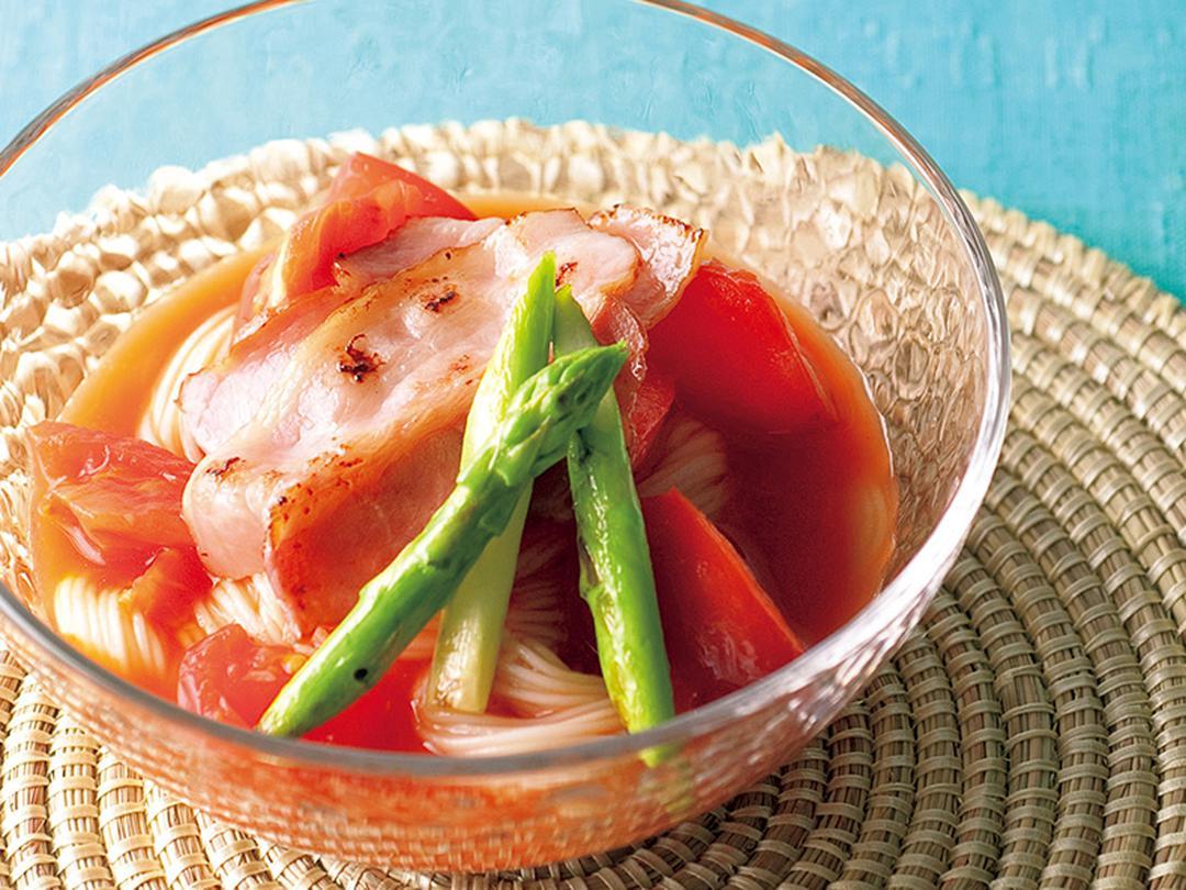 トマト酢冷麺