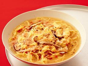 シーチキンのサンラータン麺