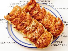 シーチキンのキャベツ焼き餃子