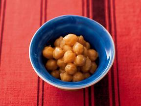 ひよこ豆のしょうがごま和え