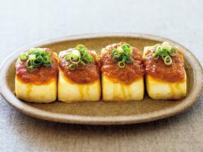 豆腐の肉味噌田楽