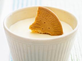 豆腐のカップレアチーズケーキ