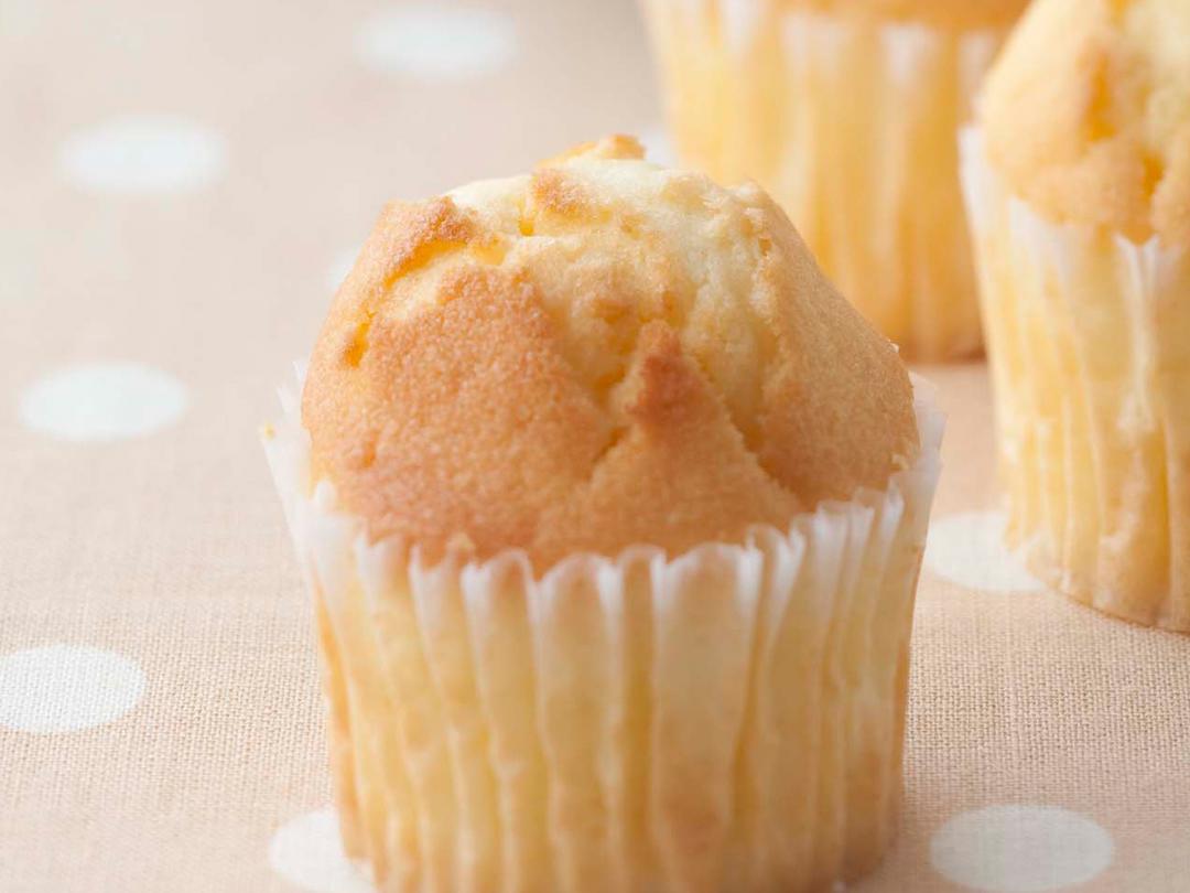 豆乳カップケーキ