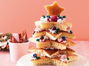 ツリー★ホットケーキ