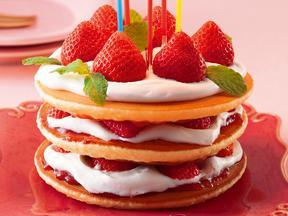 ハッピーバースデーホットケーキ