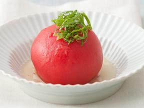 まるごとトマトの烏龍浸し