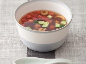 干しえびと烏龍のスープ