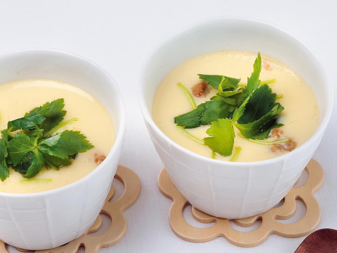 フライパン納豆茶碗蒸し