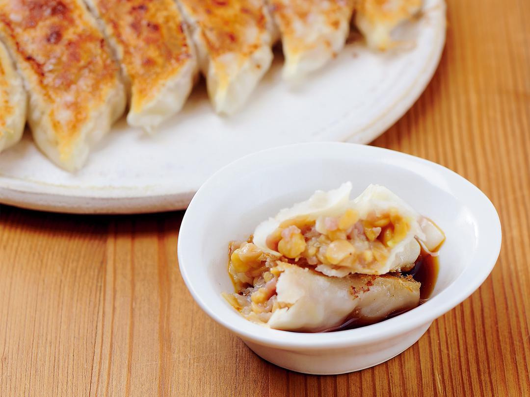 納豆焼き餃子