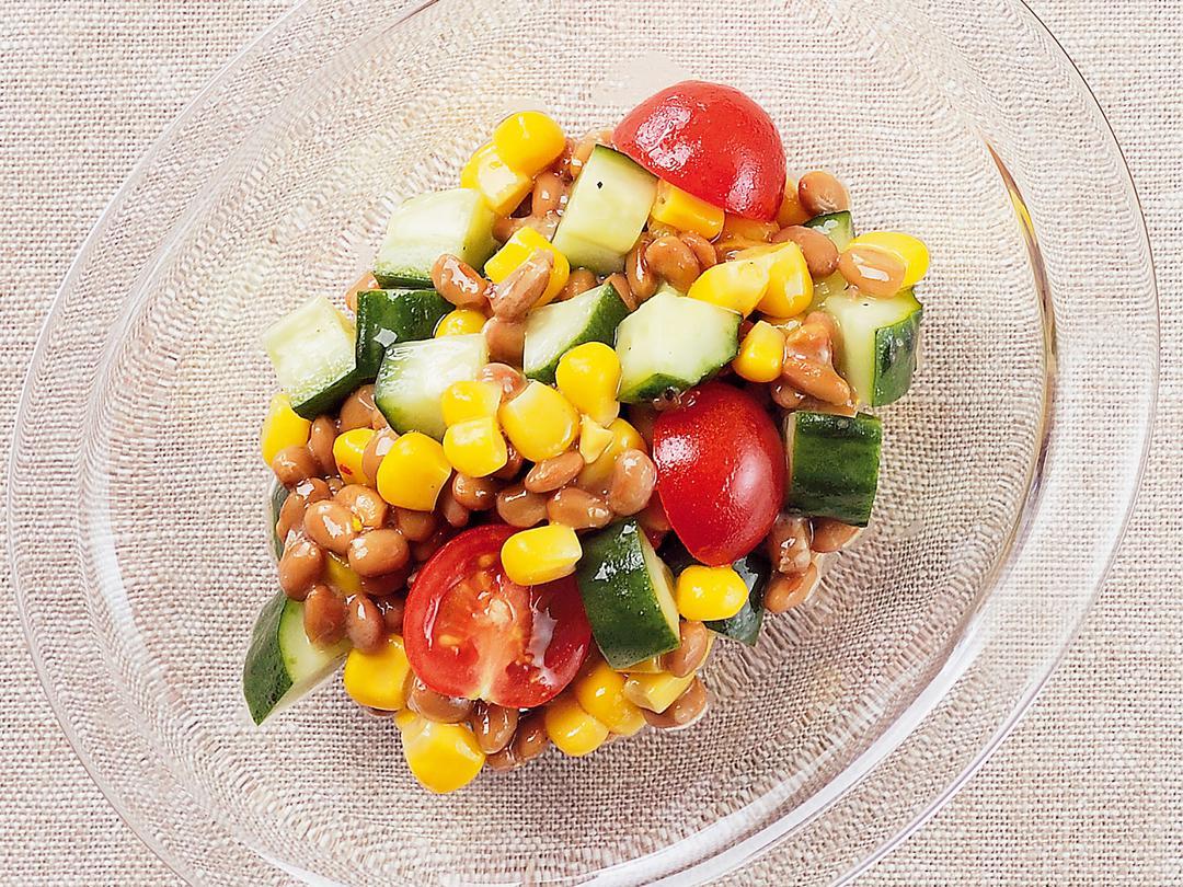 カラフル野菜納豆