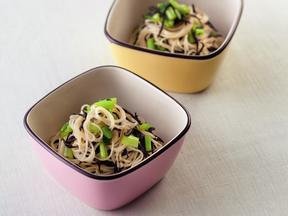 小松菜とひじきのそうめん小鉢