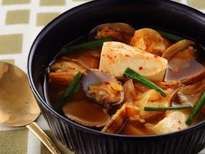 豆腐チゲスープ