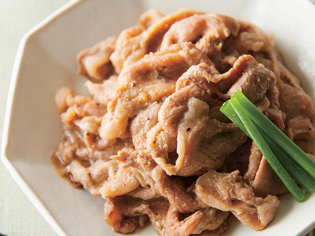 豚肉のしょうが煮